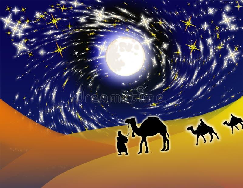 Download Uomini saggi illustrazione di stock. Illustrazione di cammello - 7301104