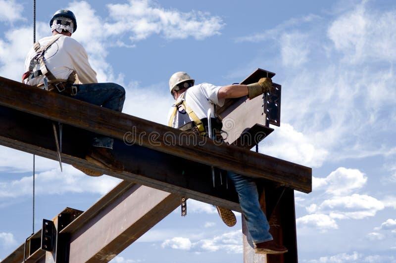 Uomini sul lavoro immagine stock libera da diritti