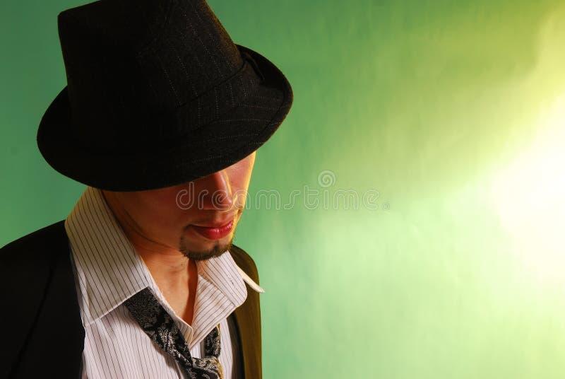 Uomo 2 dell'annata fotografie stock libere da diritti