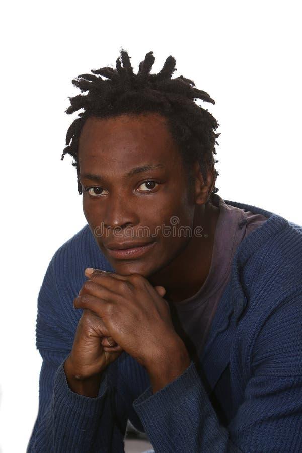 Uomo africano con Dreadlocks fotografia stock