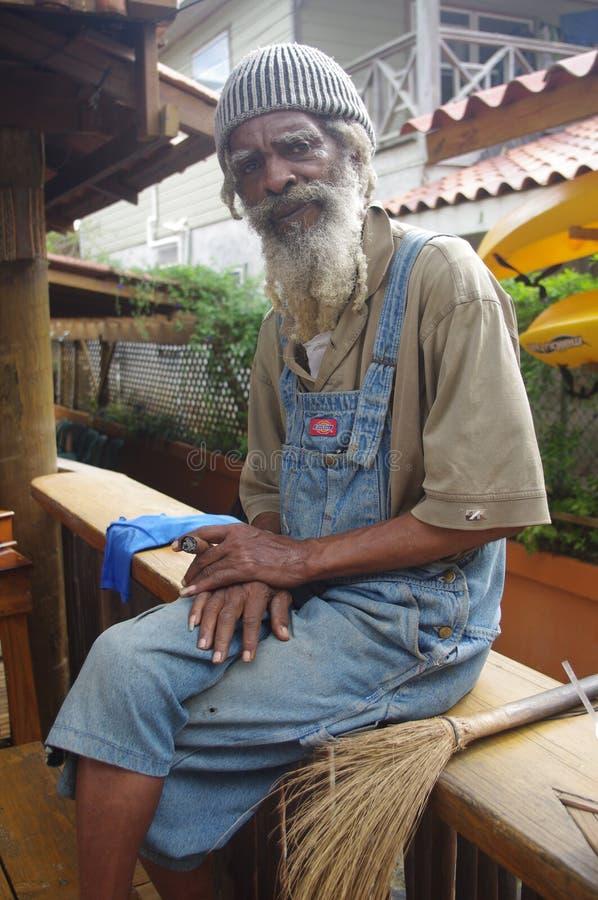 Uomo afrocaraibico fotografia stock libera da diritti
