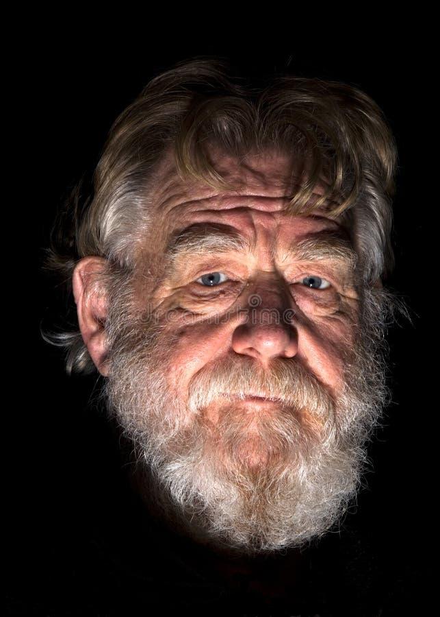 Uomo anziano 2 fotografie stock