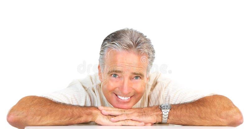 Uomo anziano del senoir immagini stock
