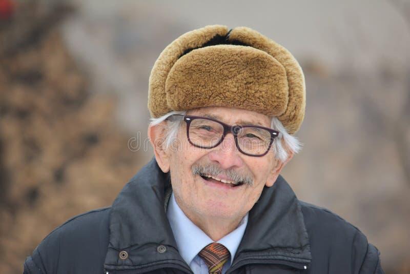 Uomo anziano vitale immagini stock libere da diritti