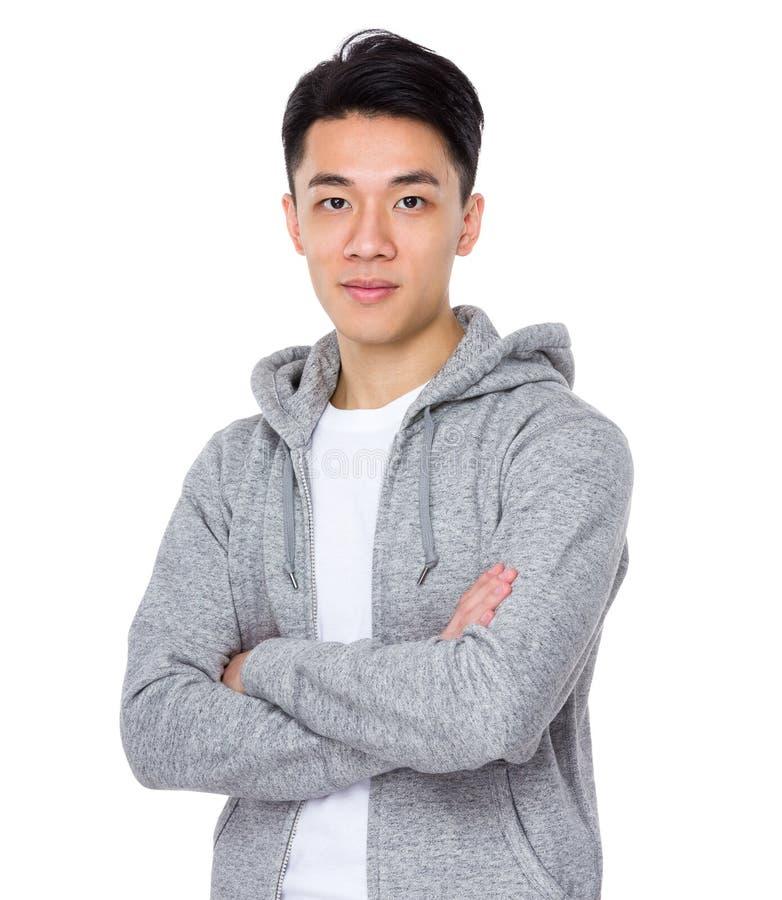 Download Uomo asiatico fotografia stock. Immagine di uomo, background - 55355522