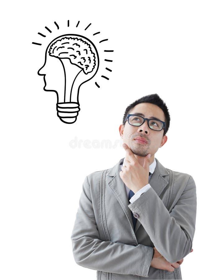 Uomo asiatico di affari immagini stock libere da diritti