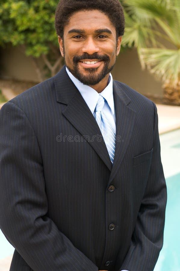 Uomo bello del African-American fotografie stock