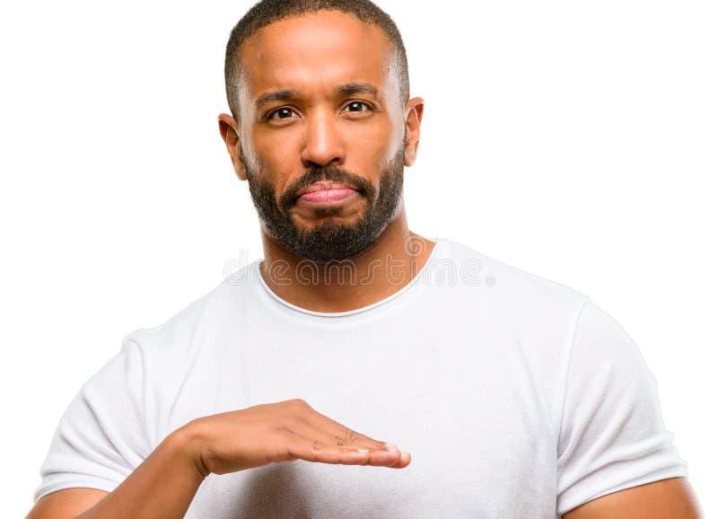 uomo bello dell'afroamericano immagine stock libera da diritti