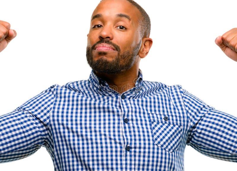 uomo bello dell'afroamericano immagini stock libere da diritti