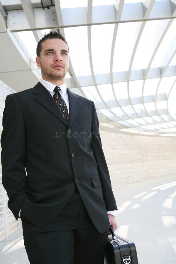 Uomo bello di affari fotografie stock libere da diritti