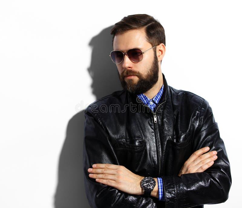 Uomo bello elegante immagine stock