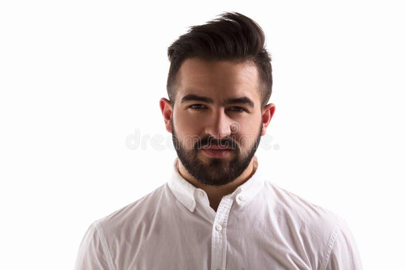 Uomo bello in studio immagine stock libera da diritti