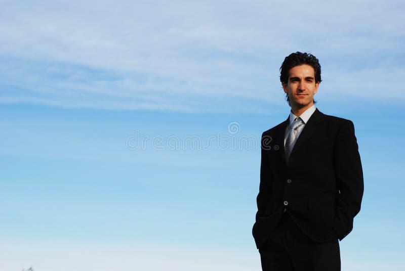 Uomo d'affari fotografia stock