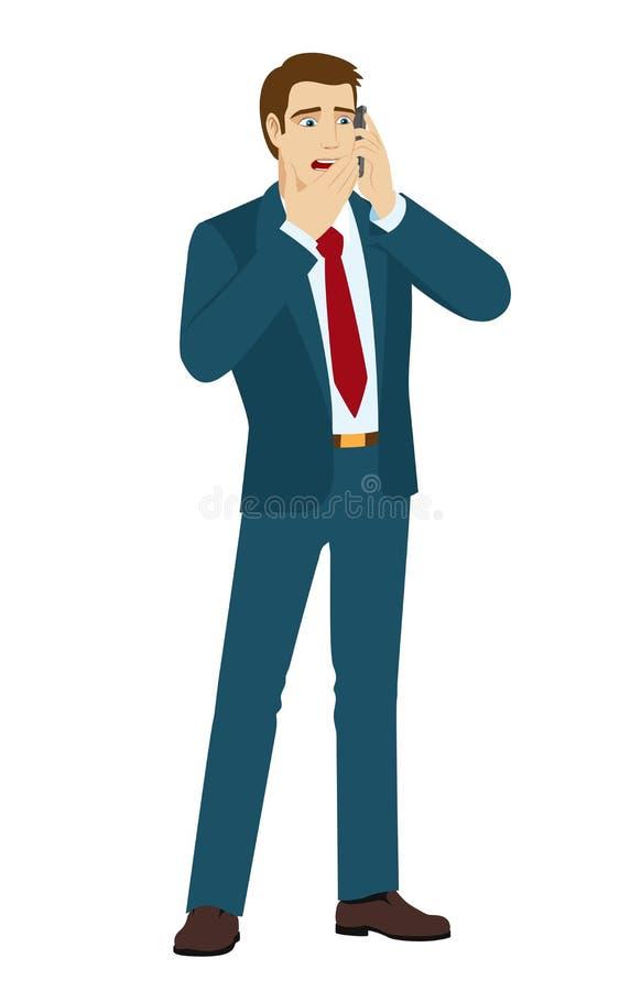 Uomo d'affari illustrazione di stock