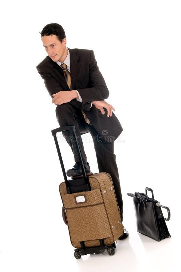Uomo d'affari, abbonato immagine stock