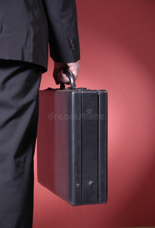 Uomo d'affari ambulante III immagini stock libere da diritti