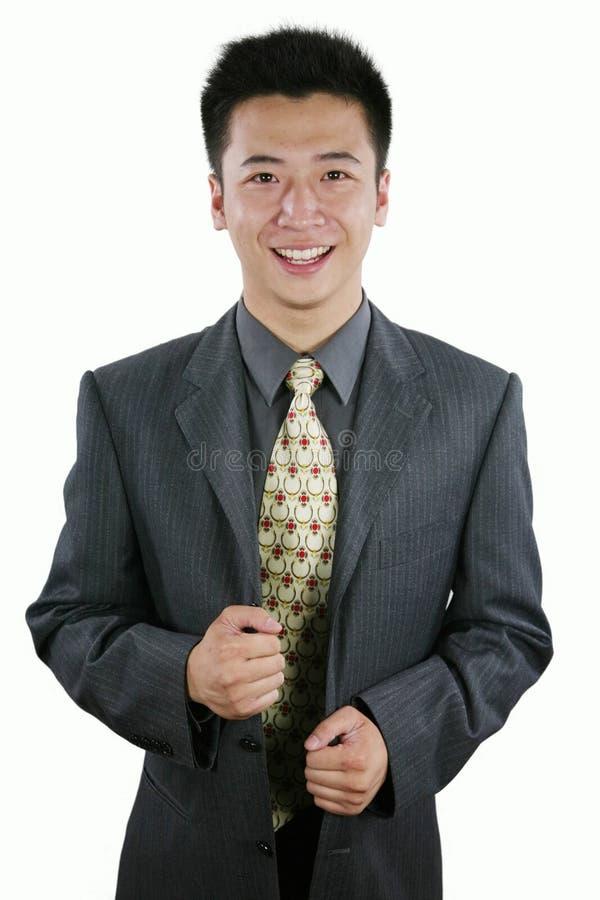 Uomo d'affari asiatico immagine stock libera da diritti
