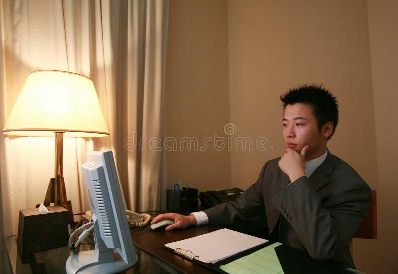 Uomo d'affari asiatico immagine stock