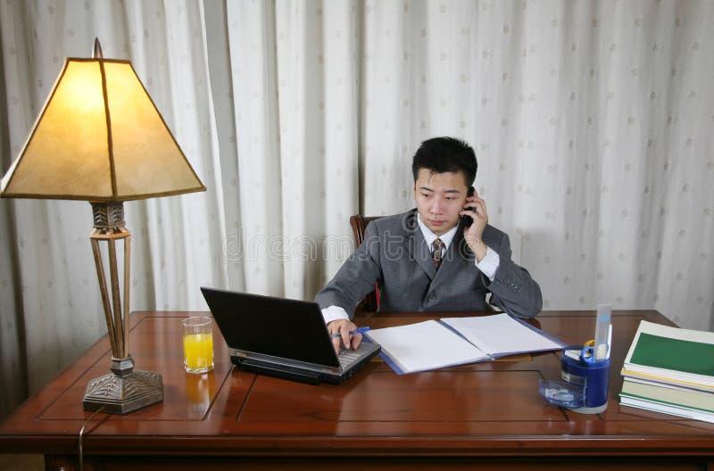 Uomo d'affari asiatico immagini stock