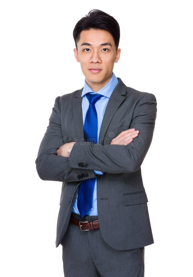 Download Uomo d'affari asiatico fotografia stock. Immagine di background - 55355590