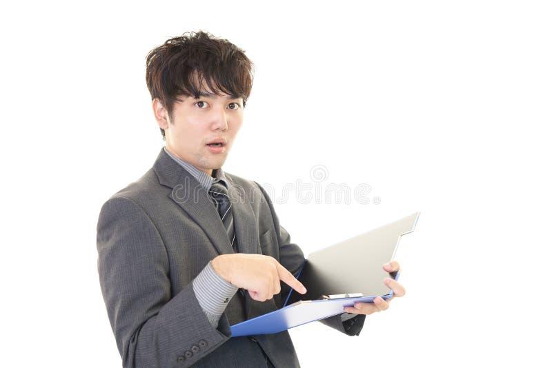 Download Uomo D'affari Asiatico Deludente Fotografia Stock - Immagine di ufficio, frustrato: 56882402