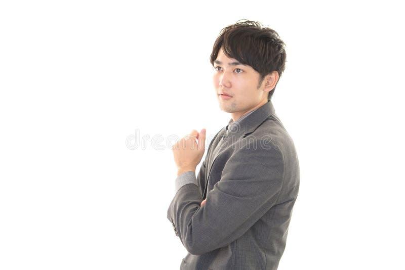 Download Uomo D'affari Asiatico Sorridente Fotografia Stock - Immagine di fresco, felice: 56882144