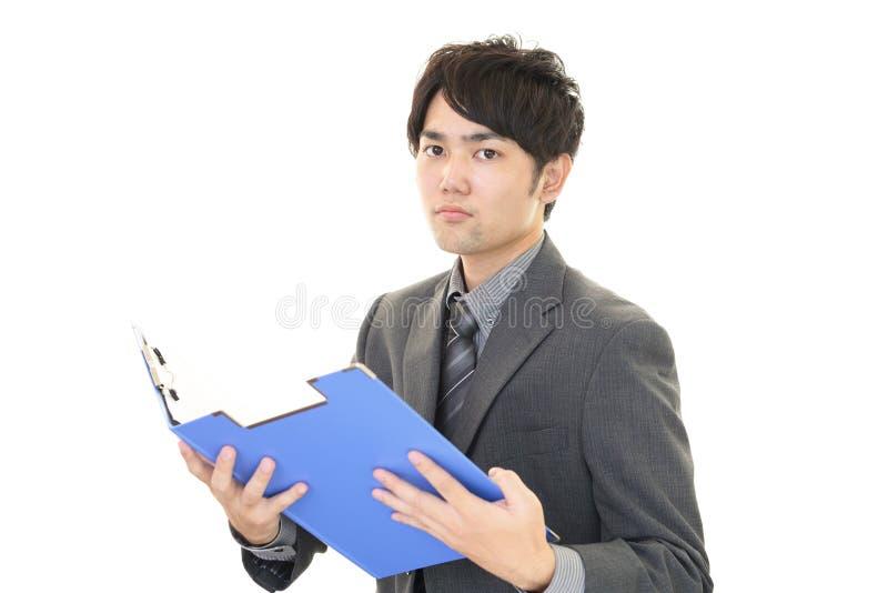Download Uomo D'affari Asiatico Sorridente Immagine Stock - Immagine di commercio, faccia: 56883099