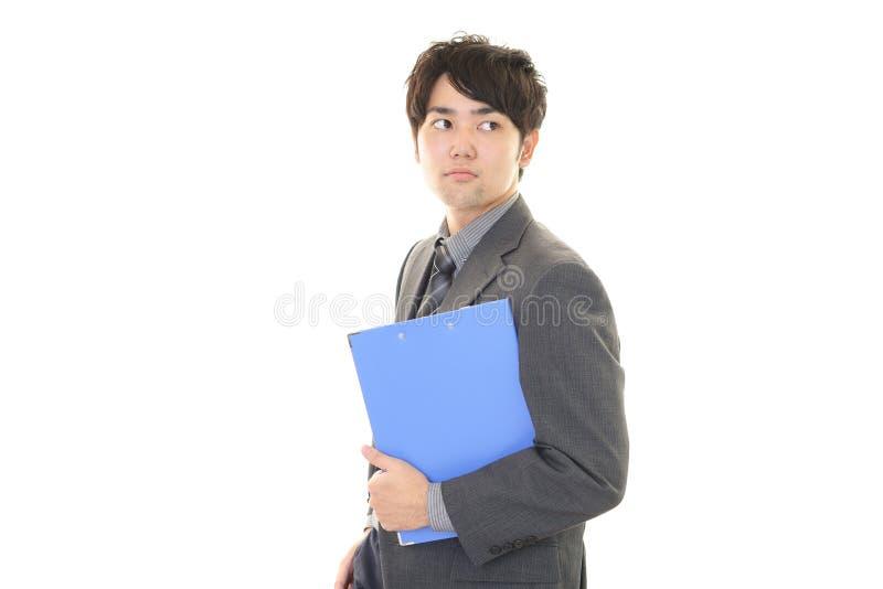 Download Uomo D'affari Asiatico Sorridente Immagine Stock - Immagine di felicità, gioia: 56883143