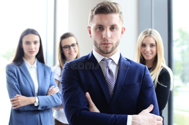 Uomo d'affari bello fotografie stock