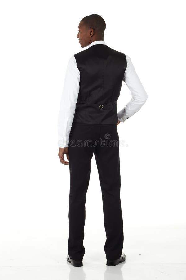 Uomo d'affari dell'africano nero fotografia stock