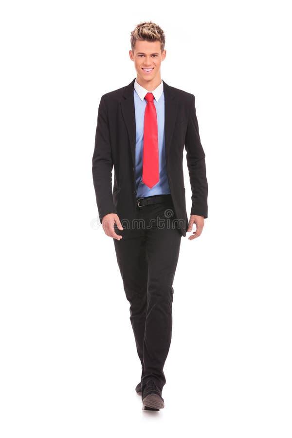 Uomo d'affari di camminata immagini stock libere da diritti
