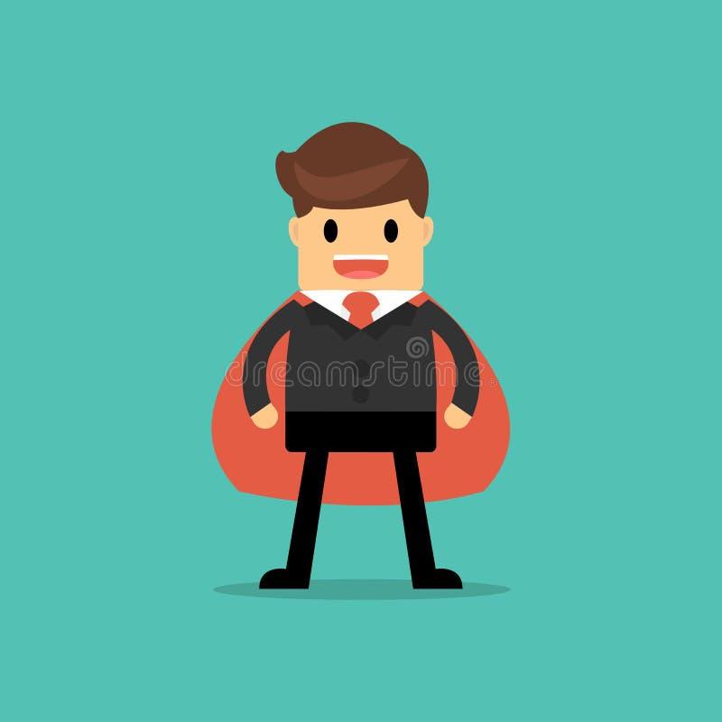 Uomo d'affari eccellente illustrazione di stock