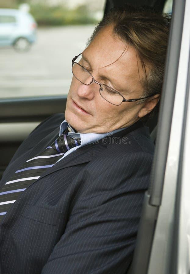 Uomo d'affari faticoso fotografie stock