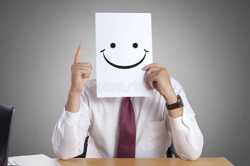 Uomo d'affari felice Concept fotografie stock libere da diritti