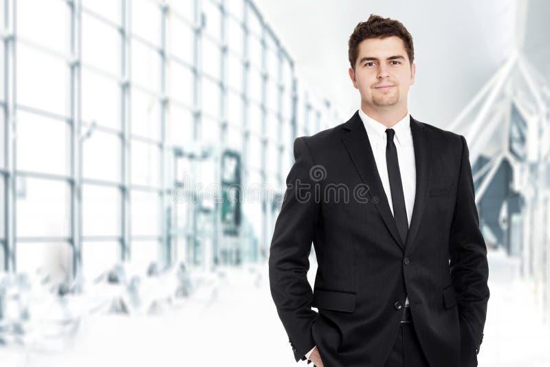 Uomo d'affari giovane fotografia stock libera da diritti