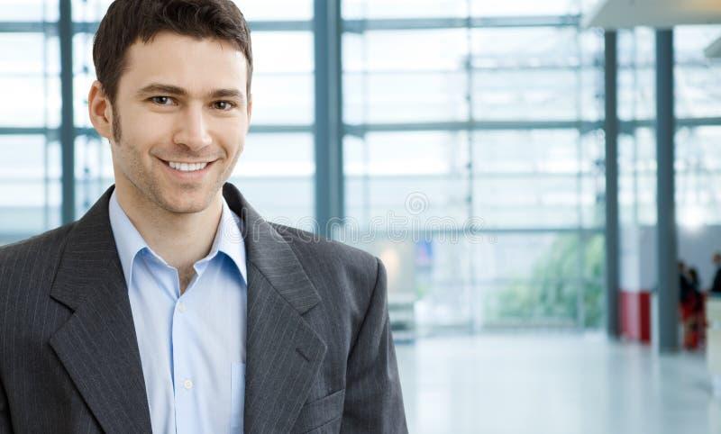Uomo d'affari giovane immagini stock