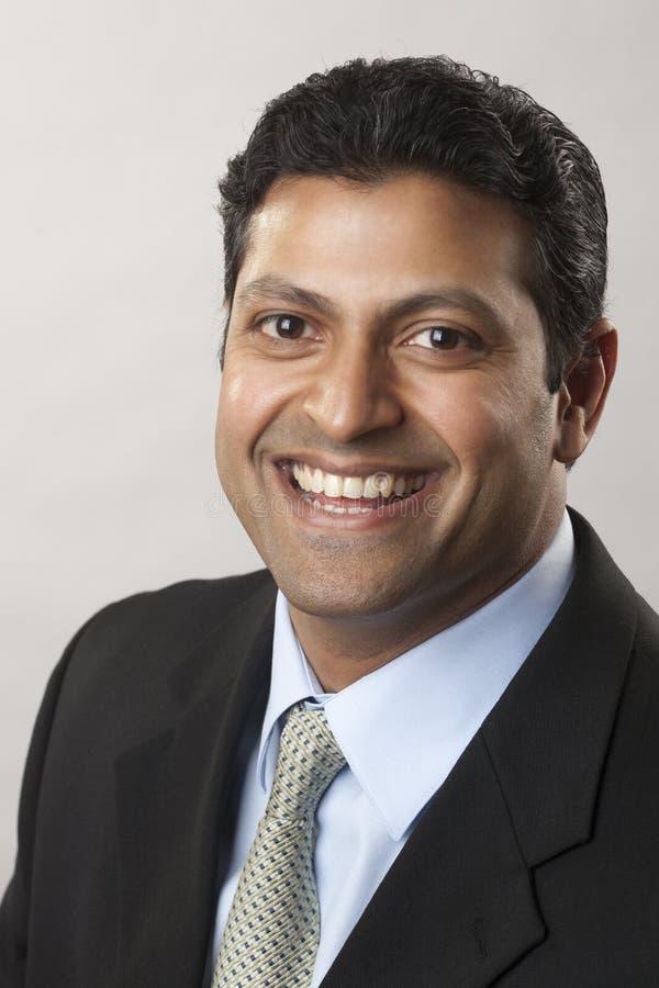 Uomo d'affari indiano immagini stock libere da diritti