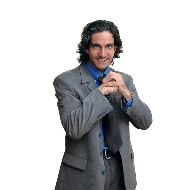 Uomo d'affari isolated-7 immagini stock
