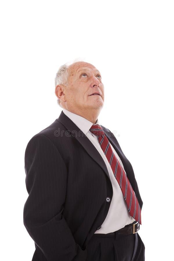 Uomo d'affari maggiore immagine stock