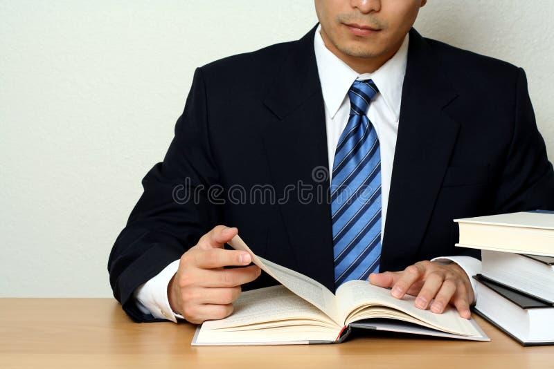 Uomo d'affari occupato fotografie stock libere da diritti
