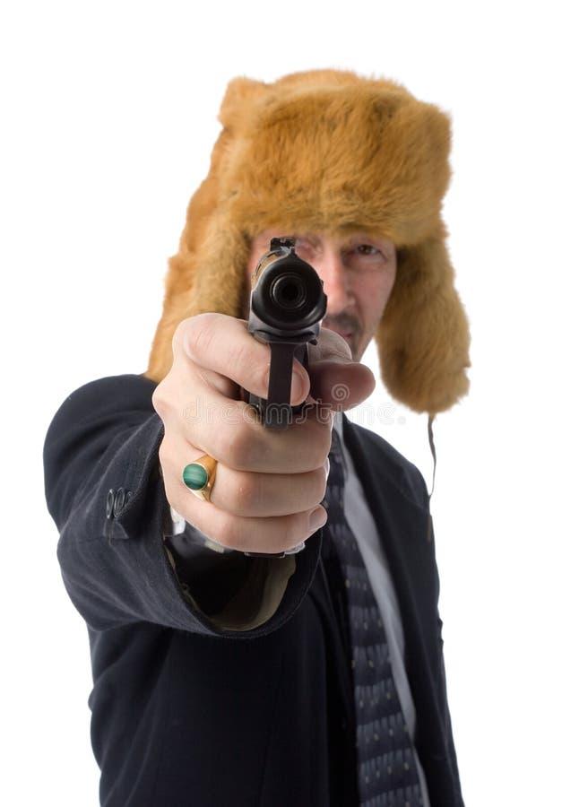 Uomo d'affari russo immagini stock