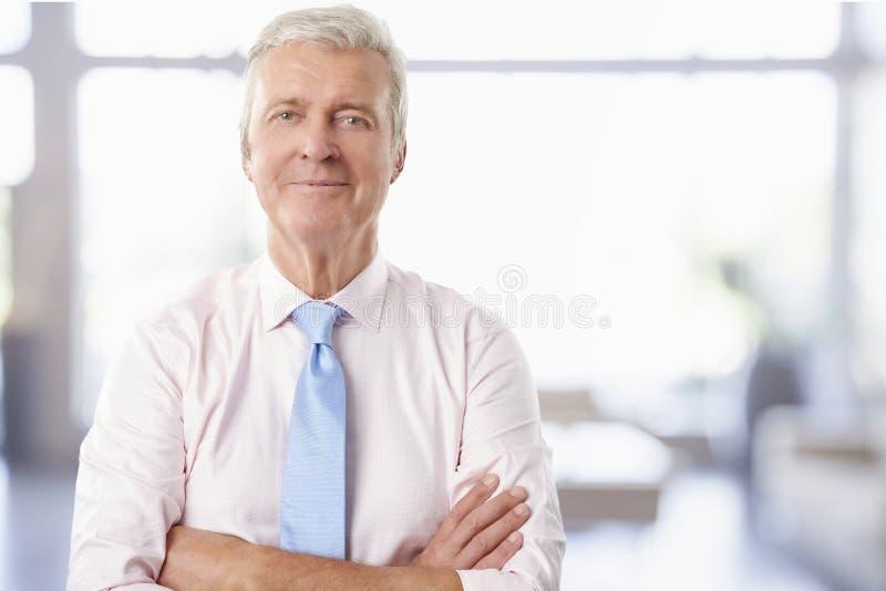 Uomo d'affari senior esecutivo fotografie stock