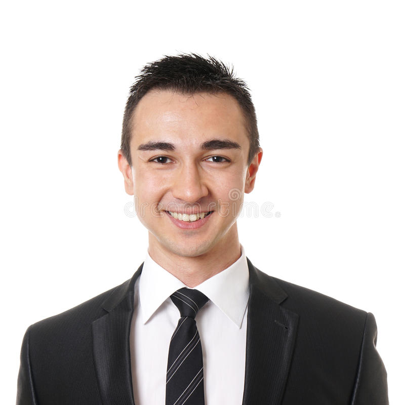 Uomo d'affari sorridente immagine stock libera da diritti