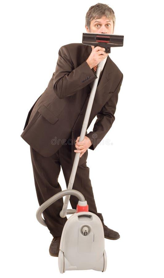 Uomo d'affari stupito fotografie stock