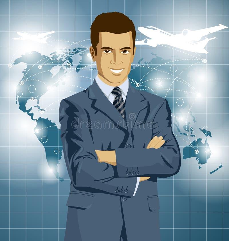 Download Uomo D'affari In Suit Di Vettore Illustrazione Vettoriale - Illustrazione di casuale, contemporaneo: 56875187
