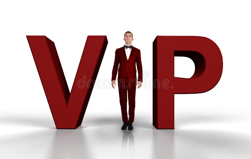 Uomo d'affari VIP fotografie stock libere da diritti