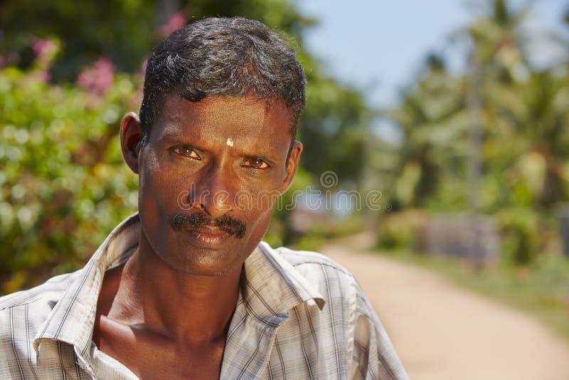 Uomo dallo Sri Lanka immagine stock