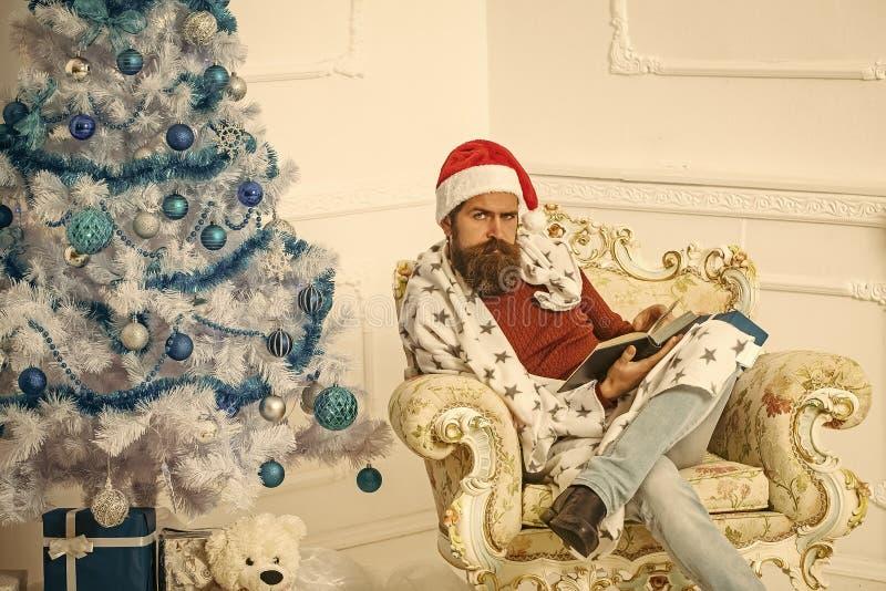 Uomo del Babbo Natale, favola immagine stock