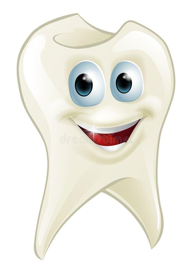 Uomo del dente illustrazione di stock