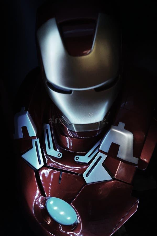 Uomo del ferro immagine stock